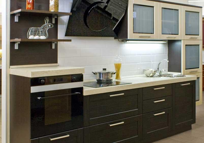 кухня рамочный фасад фото яркие